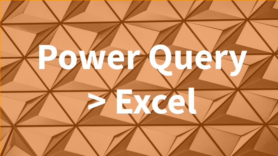 Power query is a fantastic tool for everyone who uses Excel regularly